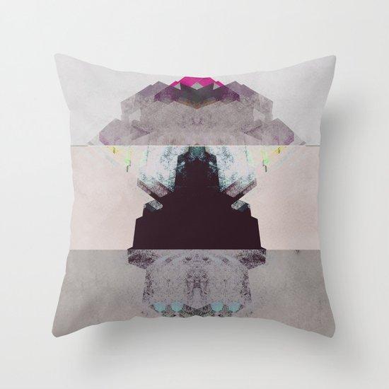 Apart Throw Pillow