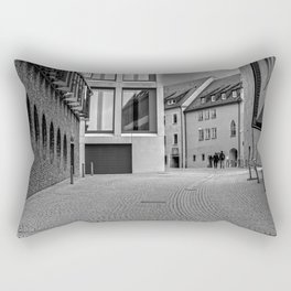 Fishermensquarter Ulm / Streetphotography Rectangular Pillow