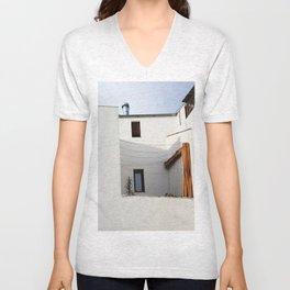 Andalusian house Unisex V-Neck