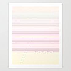 Wiggle Art Print