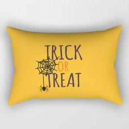 The Trick Or Treat Art Rectangular Pillow