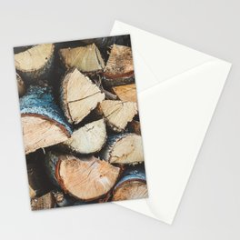 Wood / Photography Print / Photography / Color Photography Stationery Cards