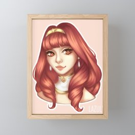 Celica Framed Mini Art Print