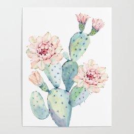 The Prettiest Cactus Poster