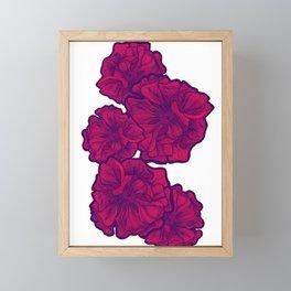 PASSION FLOWERS Framed Mini Art Print
