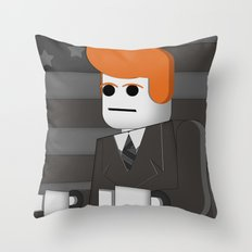 I'm With LEGO Throw Pillow
