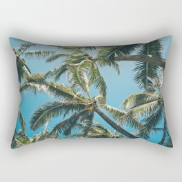 Kuau Palms Paia Maui Hawaii Rectangular Pillow