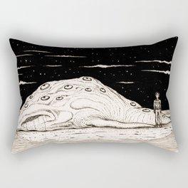 Beached Creature Rectangular Pillow
