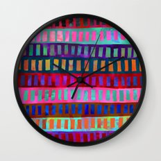 PATTERN {Geometric 001} Wall Clock