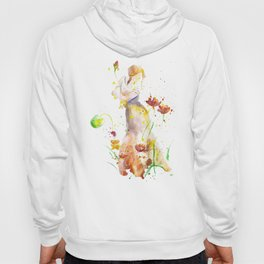 Woman's Abstract - Fall Hoody