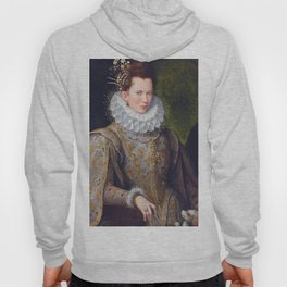 Portrait of Court Lady with Dog by Lavinia Fontana Hoody