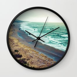 Good Morning Beach Wall Clock