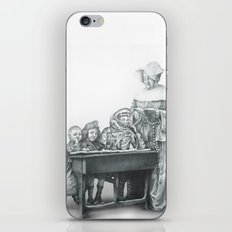 In which a cosmonaut is rendered quizzical iPhone & iPod Skin