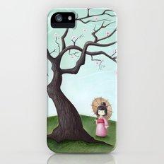 Japanese Cherry Tree Slim Case iPhone (5, 5s)