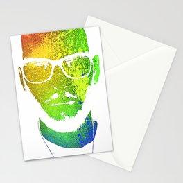 Reversed Misted Mugshot Stationery Cards