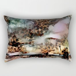 Thunderous Sunset Ahead Rectangular Pillow