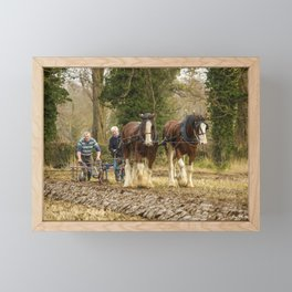 Working Horses 3 Framed Mini Art Print