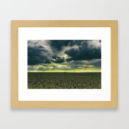 Tempestatem Framed Art Print