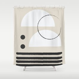 Abstract Modern Art Shower Curtain