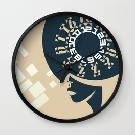 GEEZ-GIRL Wall Clock