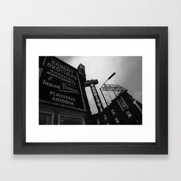 Flagstaff, AZ Framed Art Print
