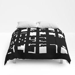 Alphanumerique Comforters