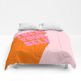 Treat Yourself   Peach Comforters