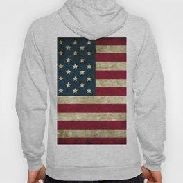 Vintage American flag Hoody