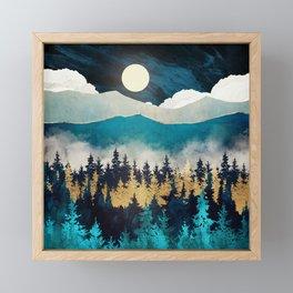 Evening Mist Framed Mini Art Print