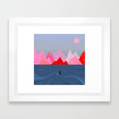Within // Without Framed Art Print