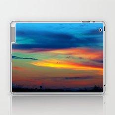 Sunset in Caleidoscope Laptop & iPad Skin