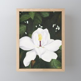 Magnolia I Framed Mini Art Print