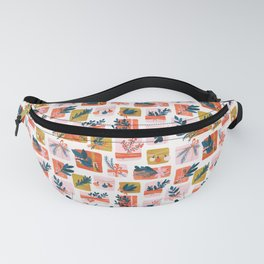 Gift Box Fanny Pack