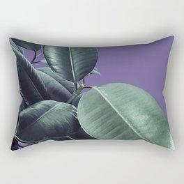 Ficus Elastica Ultra Violet #2 #decor #art #society6 Rectangular Pillow