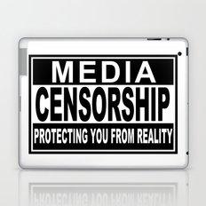 Media Censorship Protecting You From Reality Laptop & iPad Skin