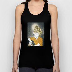 Who's The Monkey, In This Monkey World ? Unisex Tank Top