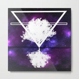 Thinking Space Metal Print