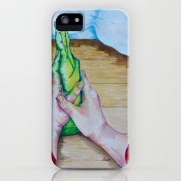 Not All There iPhone Case