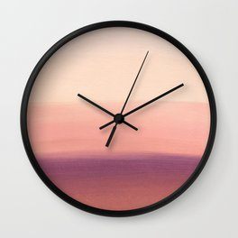 Sunday Morning Easy Wall Clock