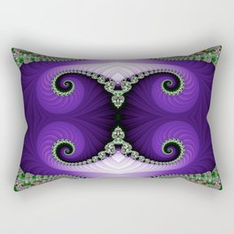The Empress Headdress Rectangular Pillow