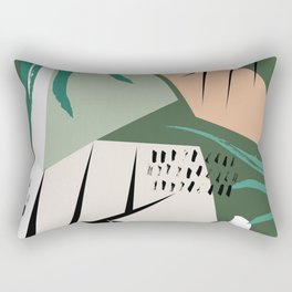 Abstract /Botanical Rectangular Pillow