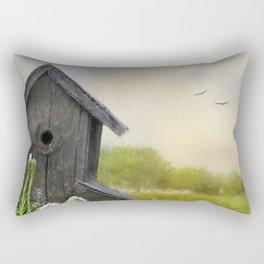 Little Bits Of Good - Vintage Art Rectangular Pillow