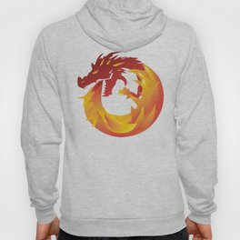 Fire Breathing Dragon Hoody