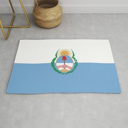 flag of mendoza Rug