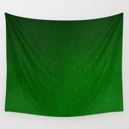 Emerald Green Ombre Design Wall Tapestry