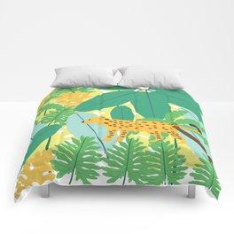 Jungle Love Comforters