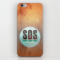 S O S iPhone & iPod Skin