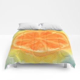 Juicy Orange Comforters
