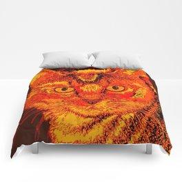 Orange Tabby Comforters