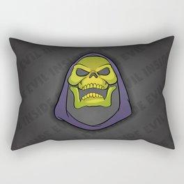 """Masters of the Universe Skeletor """"Evil inside"""" Rectangular Pillow"""